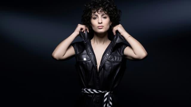 La chanteuse Barbara Pravi, le 3 février 2021 à Paris
