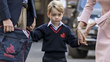 Le prince George fréquente une école primaire très sélect où le coût de la scolarité