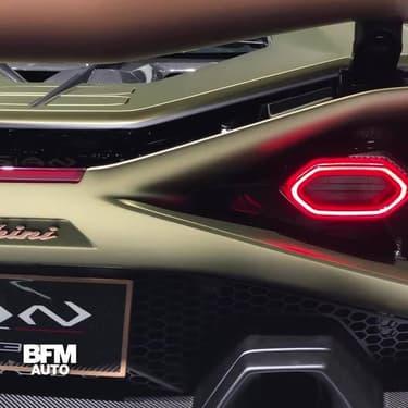 Sián, la première Lamborghini hybride