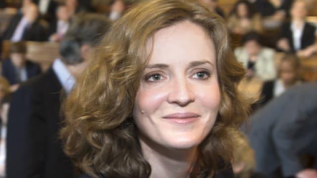 Nathalie Kosciusko-Morizet au Conseil de Paris, le 5 avril 2014.