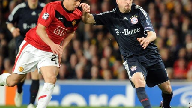 Franck Ribéry et Rafael