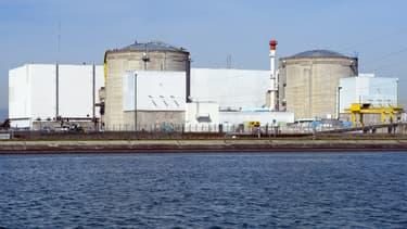Cinq centrales nucléaires ont été survolées par des drones vendredi soir, dont la centrale de Fessenheim (ici en photo).