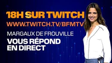 Margaux de Frouville répond à vos questions sur Twitch
