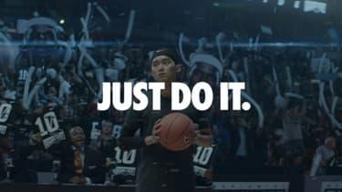 """La marque Nike fête les 25 ans de son slogan """"Just do it""""."""