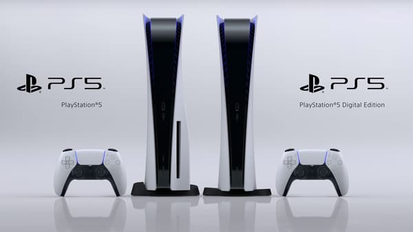 Les deux versions de la PlayStation 5 de Sony