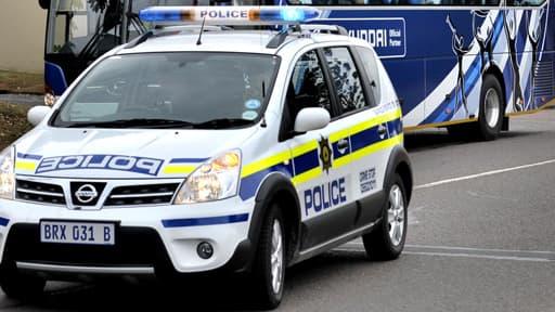 Une voiture de la police de Durban. (Photo d'illustration)
