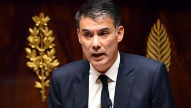 Olivier Faure le 24 octobre 2017 à l'Assemblée nationale