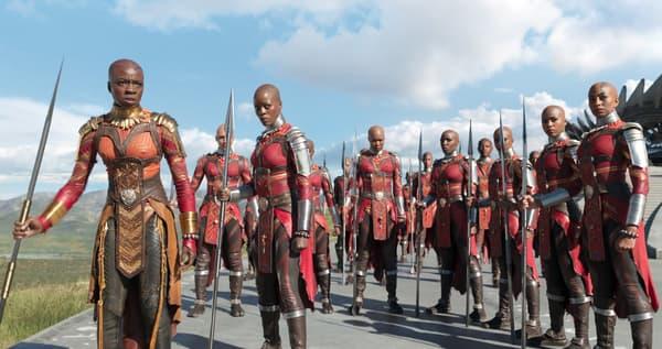Les guerrières de Black Panther