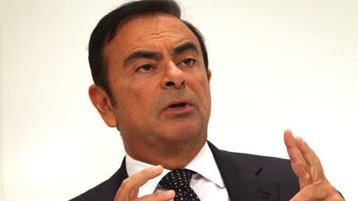 Carlos Ghosn est confiant quant à l'avenir de Renault.