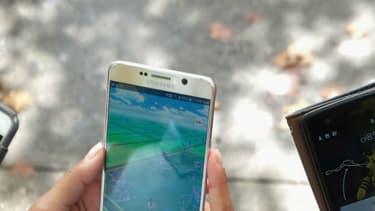 Des chasseurs de Pokémon à New York (image d'illustration)