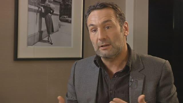 Gilles Lellouche a rencontré BFMTV dans le cadre de l'émission 7 jours BFM.