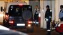 Arrivée d'Anders Behring Breivik au tribunal d'Oslo. Le jeune homme a reconnu la responsabilité du massacre commis le 22 juillet en Norvège tout en refusant de plaider coupable d'une tuerie qui a fait 77 morts, lors de sa première comparution en public de