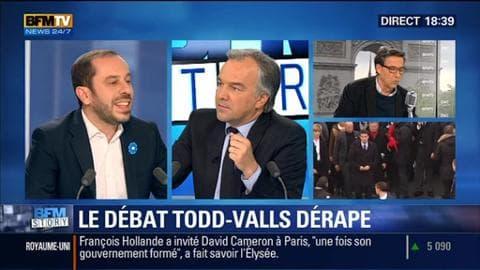 Le débat qui oppose Manuel Valls à Emmanuel Todd dérape