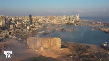 Les images de Beyrouth dévastée au lendemain des deux immenses explosions