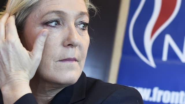 Marine Le Pen, le 13 juillet 2015. - Loïc Venance - AFP