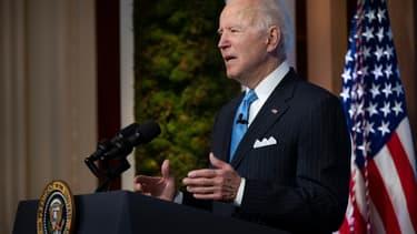 Le président américain Joe Biden, le 23 avril 2021 à la Maison Blanche, à Washington