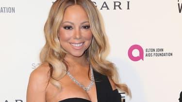 Mariah Carey en février 2016