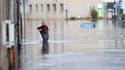 Après la tempête, les inondations comme à Morlaix, en Bretagne.