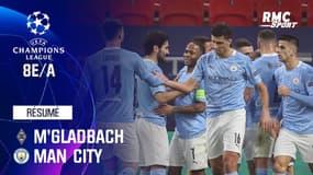 Résumé : M'Gladbach 0-2 Manchester City - Ligue des champions 8e de finale aller