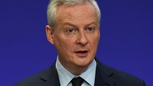 Le ministre de l'Economie Bruno Le Maire à Paris, le 8 avril 2021
