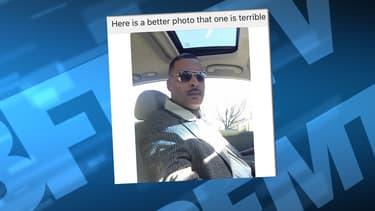 Donald 'Chip' Pugh n'a pas apprécié la photo de lui postée par la police sur Facebook.