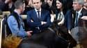 Emmanuel Macron au Salon de l'agriculture, le 1er mars 2017