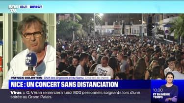 Nice: un concert sans distanciation - 12/07