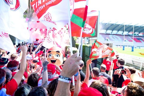 Grosse ambiance à Biarritz pour le derby face à Bayonne