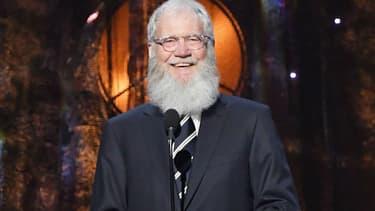David Letterman au Barclays Center à New York en 2017