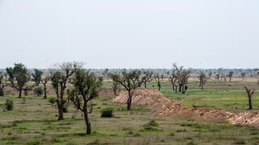 Vue du nord-est du pays où l'attaque s'est produite.