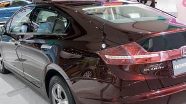 La FCX Clarity était le premier modèle à pile à hydrogène de Honda.