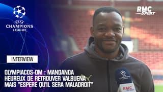 "Olympiacos-OM : Mandanda heureux de retrouver Valbuena mais ""espère qu'il sera maladroit"""