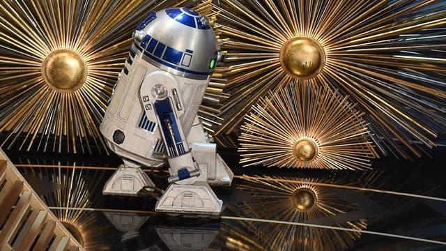 R2-D2 aux Oscars en février 2017.