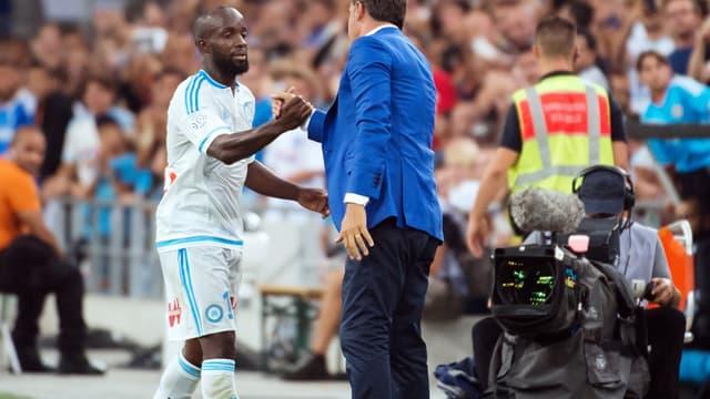 Lassana Diarra et Michel