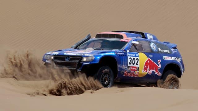 Nasser Al-Attiyah, vainqueur du Dakar 2011
