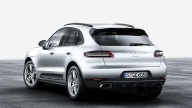 Porsche a doté le SUV compact Macan d'une motorisation quatre-cylindres en ligne 2.0 d'une puissance de 252ch. Cette motorisation fait désormais office d'entrée de gamme sur le Macan.