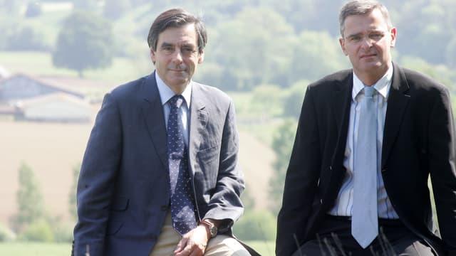 François Fillon et Marc Joulaud