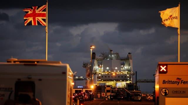 Le port international de Portmouth, au Royaume-Uni.