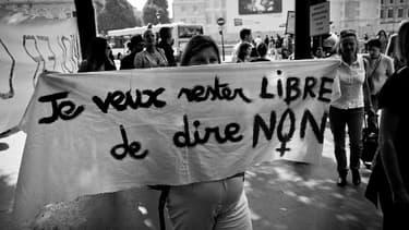 Manifestation contre les violences faîtes aux femmes, le 24 septembre 2011.