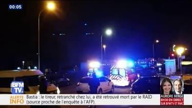 Bastia: l'auteur des coups de feu retrouvé mort par le RAID