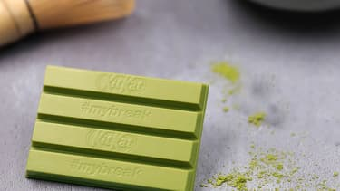 Un Kitkat au thé vert et matcha