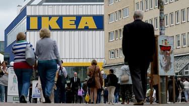 Les achats d'équipements de bureau ont progressé de 6,6% sur un an (Photo d'illustration: magasin Ikea à Hamburg)