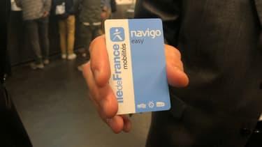 Le nouveau passe Navigo Easy