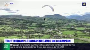 Tout Terrain : le parapente acrobatique avec un champion