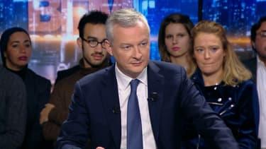 Bruno Le Maire sur BFMTV, le 21 janvier.