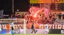 Des supporters du FC Lugano face au Grasshopper, le 23.09.21