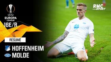 Résumé : Hoffenheim 0-2 (Q) Molde  - Ligue Europa 16e de finale retour