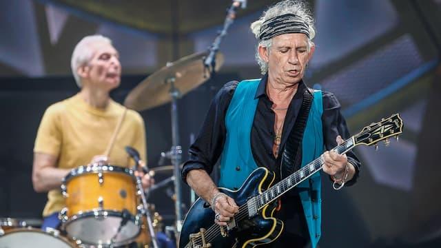 """Keith Richards, ici avec les """"Stones"""" va reprendre du service en solo."""