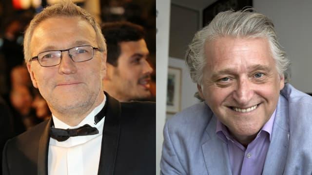 Laurent Ruquier et Gilbert Rozon