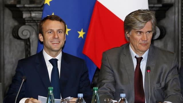 Emmanuel Macron et Stéphane Le Foll ont jugé qu'une recapitalisation n'était pas nécessaire.